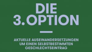 Podiumsdiskussion: Die 3. Option