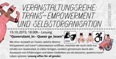 Queerulant_in – Queer ge_lesen